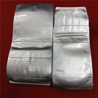 Silver Foil stand up Zip Lock Packing Bag for nuts and dried fruit