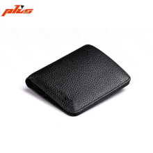 Flap Closure Guangzhou Wallet Genuine Leather Mini/Slim/Smart Wallet for Men