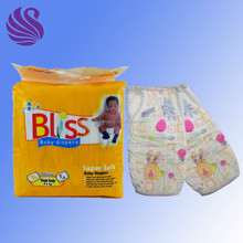 OEM cheap baby diaper with Cloth like /Elastic Waistband
