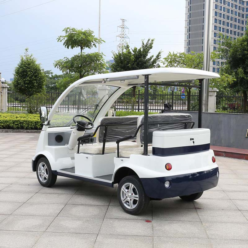 CE approved 4 seater electric sightseeing car DN-4(China)