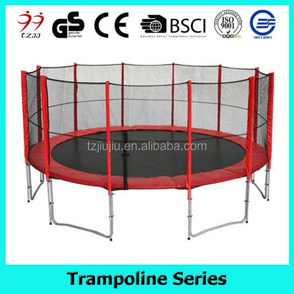 15FT costco trampolines with safety enclosure