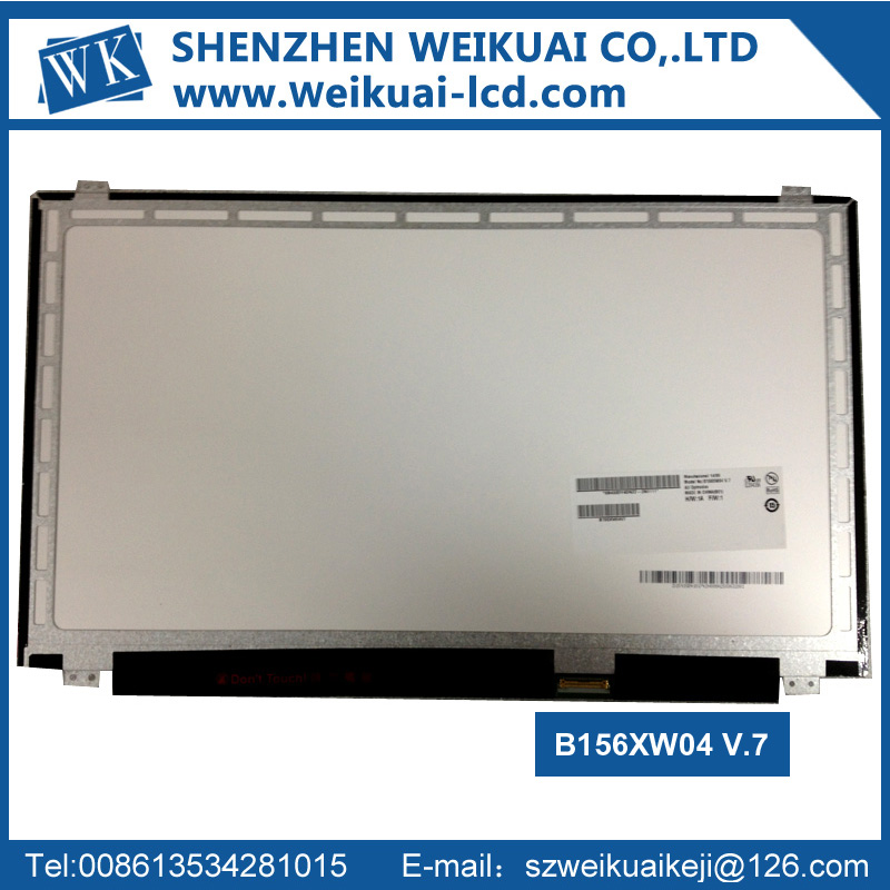 "15.6"" Laptop LCD Screen Display Slim LED 30Pins B156XW04 V.7"