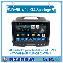 made in china car dvd player for KIA Sportage R 2015 car audio with wifi 3g internet support swc bluetooth Android car radio dvd