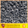 dark grey and black aggregate crushed stone