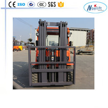hangzhou triple 3 mast diesel Forklift forklift with Closed cab