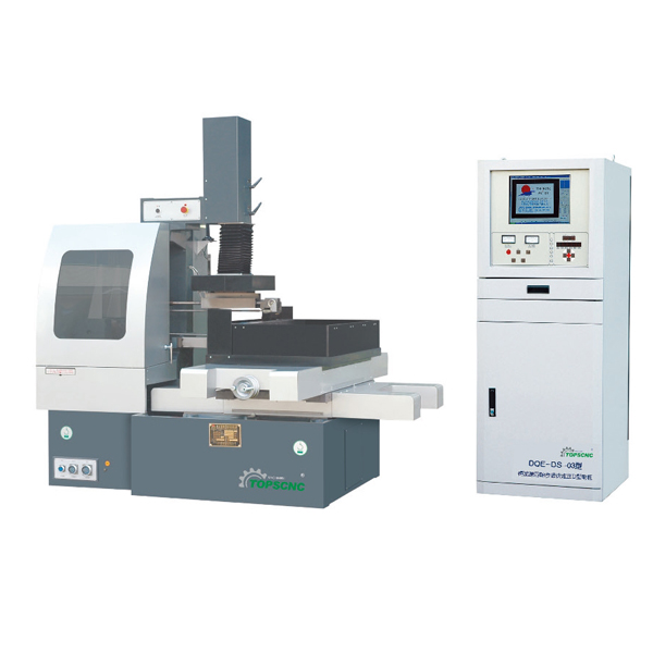 simple structure cnc high speed wire cutting machine