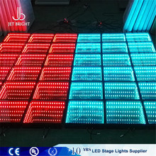 dj party panel 5050 led 60pcs acrylic colorful led dance floor screen tile