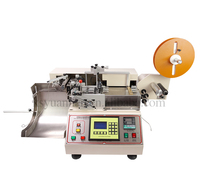 High speed Automatic stacking digital label cutting machine, trademark cutter (hot and cold)
