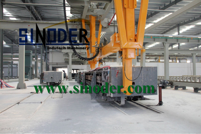 Supply sand or fly ash Lightweight AAC Blocks Machine in AAC Block Production Line project -- Sinoder Brand