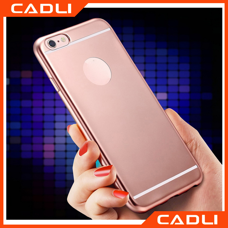 6 Colors! Luxury Fashion Anti-knock Eletroplating Soft TPU Case Cover for iPhone 5 5s rose gold/gold