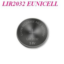 wholesale LIR2032 3.6v lithium ion rechargeable battery LIR2032/Eunicell