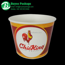 85oz kfc paper bucket with paper lid take out