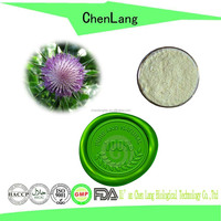 Protect Liver Active Ingredient Silymarin of Milk Thistle Extract Powder