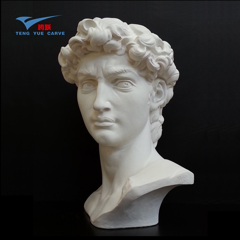 Hand carved antique marble bust(BST232)