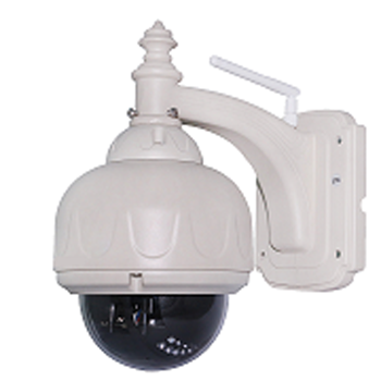 720P Outdoor ptz wifi wireless ip camera, 4X zoom, support motion detection and email alarm