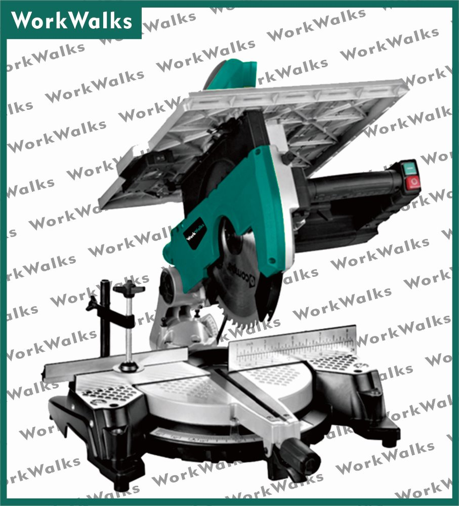 2000W 305MM compound sliding miter saw wood cutting table saw