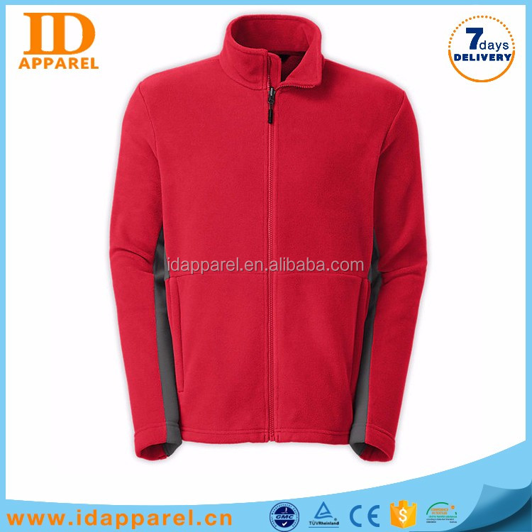 one piece fleece jacket man , comfort windproof wool jacket