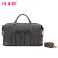 Extra large genuine leather tote handbag men elegant crossbody bag canvas laptop document messenger bag