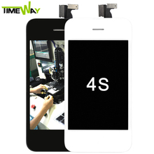 NEW Color for iphone 4s LCD Replacement ,for iphone 4s lcd spear parts