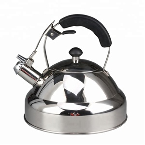 Rust Resistant Stainless Steel Whistling Tea Kettle with Capsuled Base