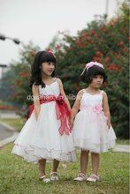 Hot sale! pretty & fashion summer little girls party dresses 2012