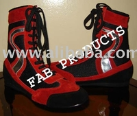 Boxing Shoes M / O Suede Leather.