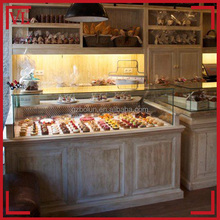 Chinese manufaturer retail shop used bakery display cases for sale