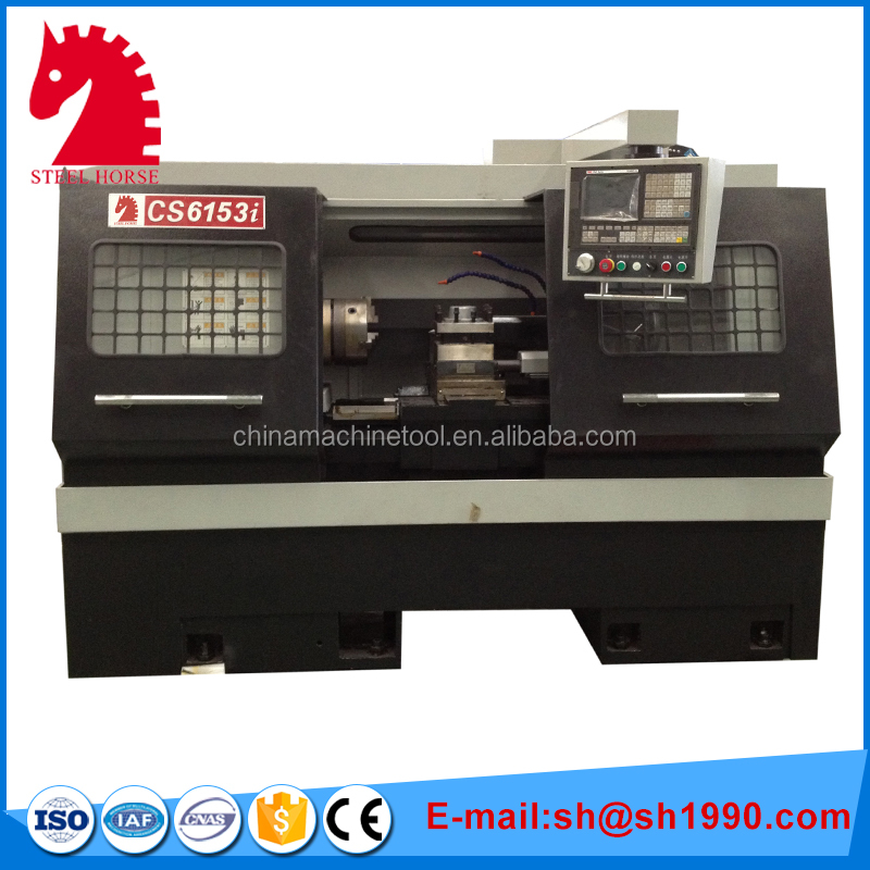 2016 trending products Steel horse cnc wheel lathe cutting machine in China