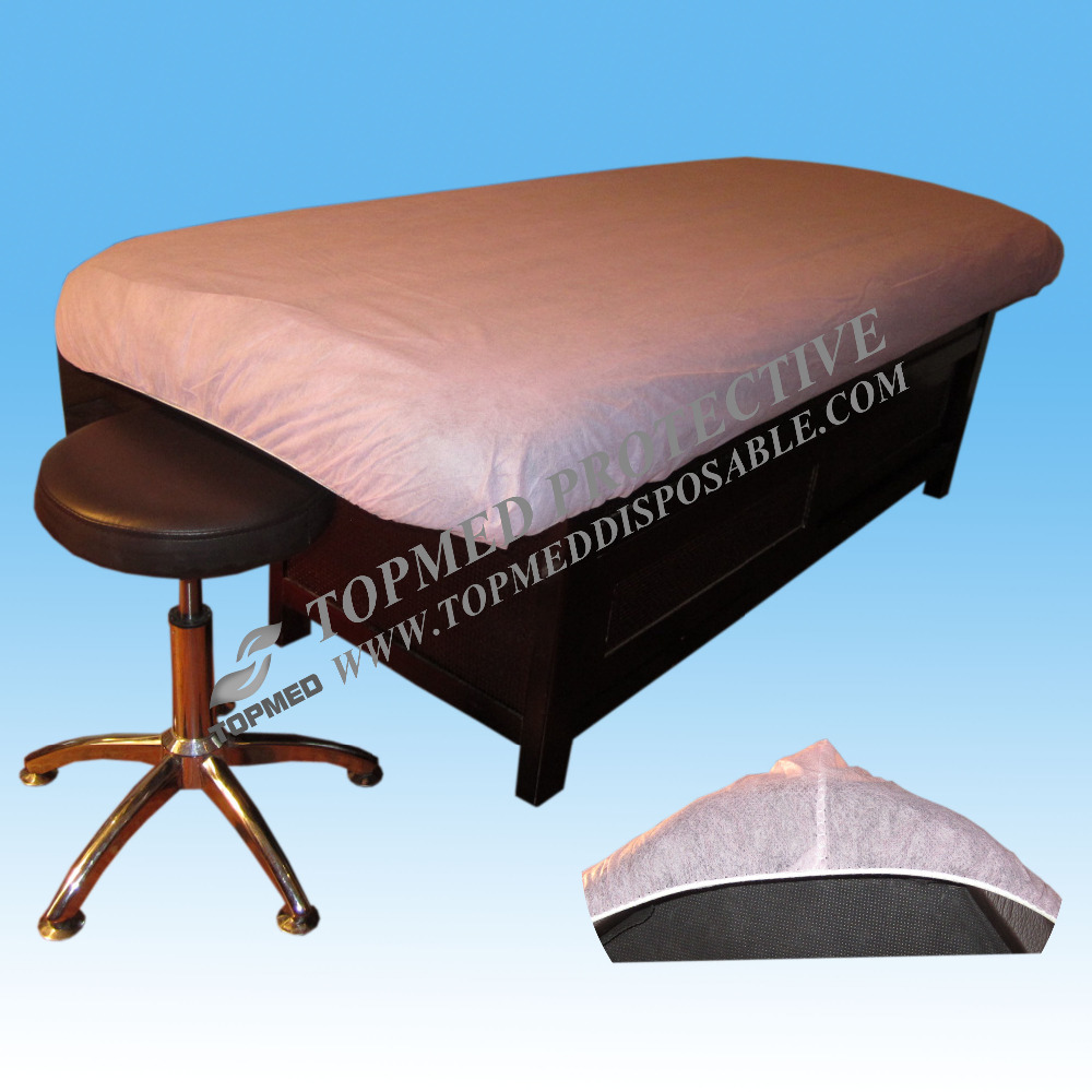 Premium Disposable Non Woven Bed Sheets,Spa Pink Massage Table Cover,Hospital Bed Sheets For Sale