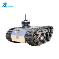 Best selling hot chinese products 4wd robot vehicles mobile car drive aluminum