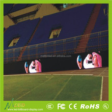Shenzhen P20 outdoor large full color football stadium led billboard