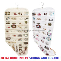 CANVAS Ultra 80 Pocket Hanging Jewelry Organizer