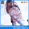 New fashion sports casual school teenager day pack print canvas backpack bag