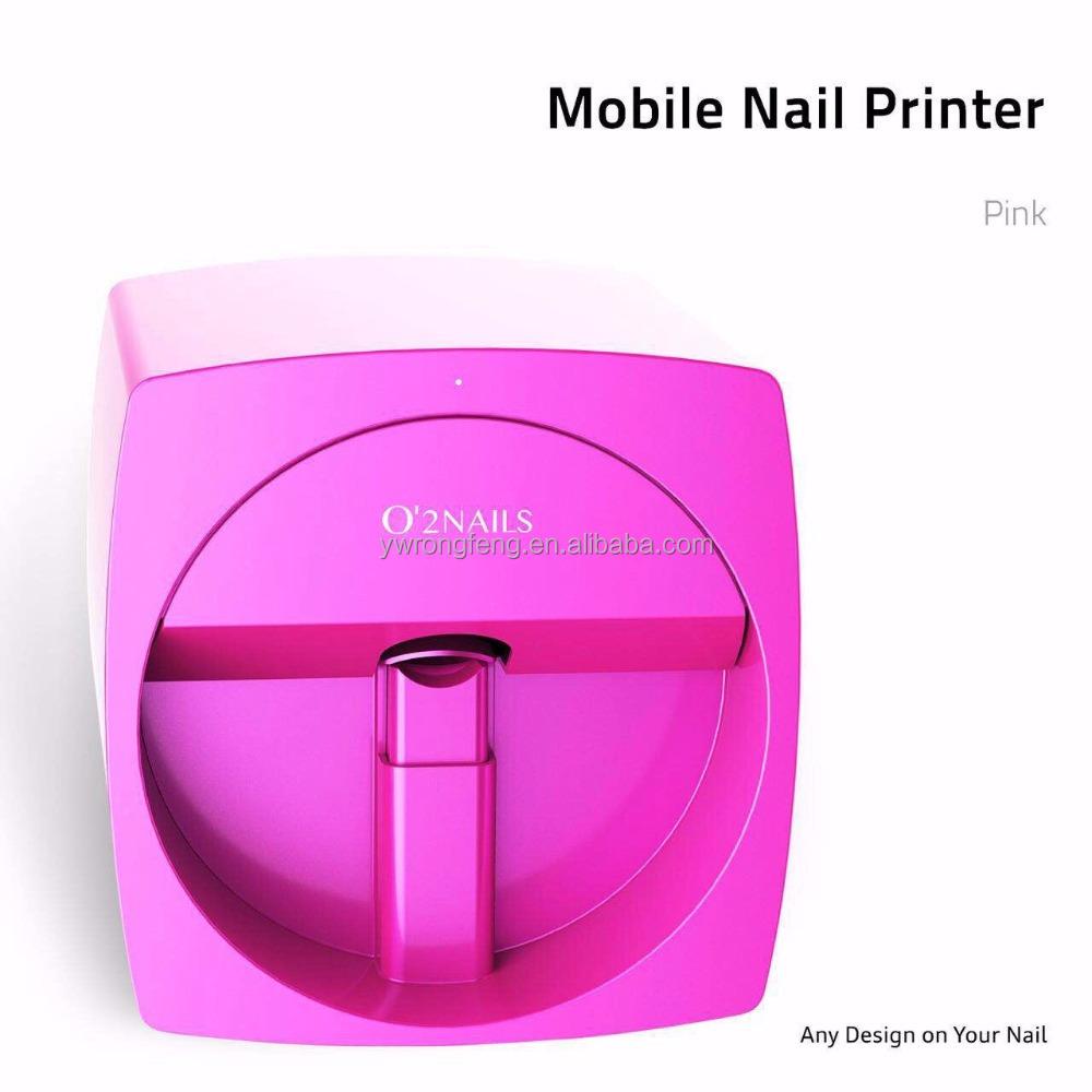 Mobile Nageldrucker V11 Automatische O2 Nägel Finger Digitale Nägel ...