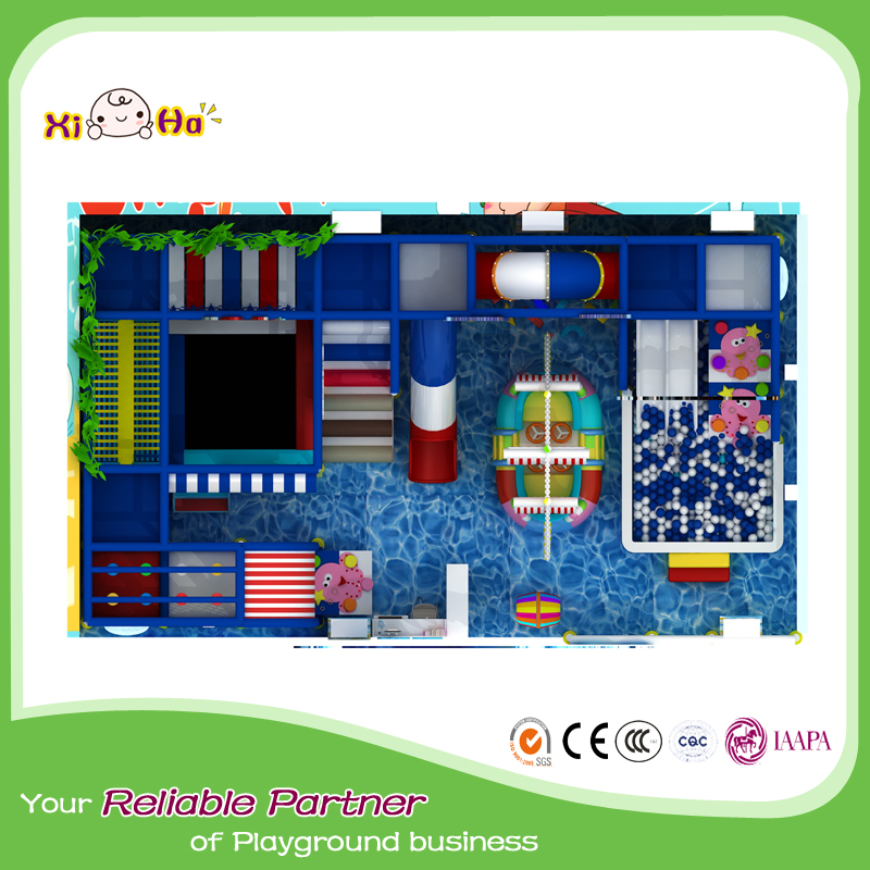 Cheer Amusement Space Kids Indoor Playground Children Paradise Colorful Safety Playground