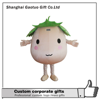 promotional Lovely customized mascot advertising costume for adult wearing