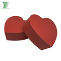 Customized waterproof heart shaped fresh rose flower paper box packaging