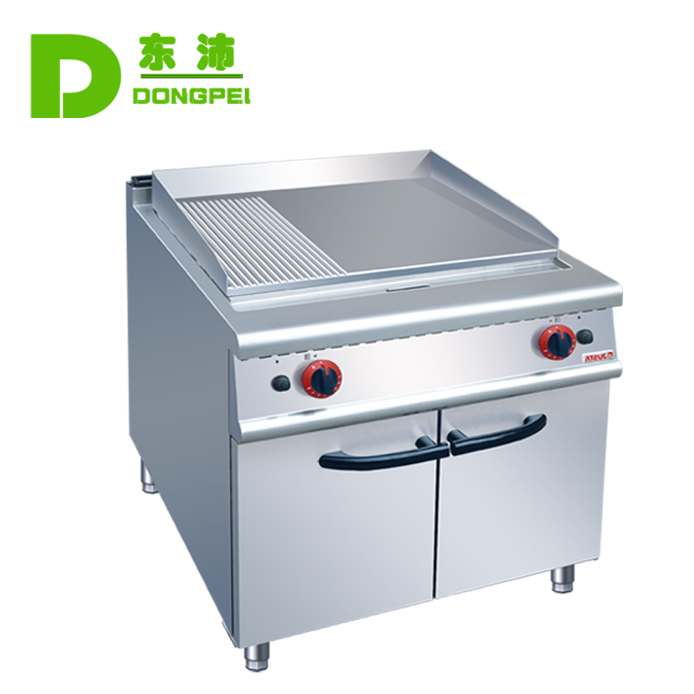 Commercial Catering Equipment 2/3 Flat & 1/3 Grooved Gas Griddle ...