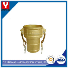 Widely range diameter brass camlock coupling male female thread fitting