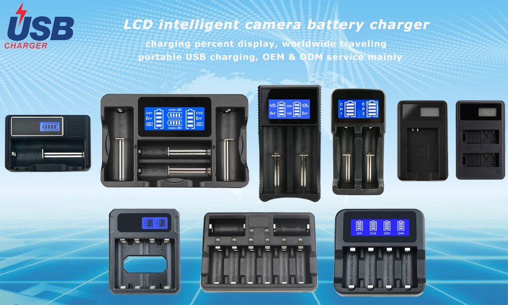 Intellicharger Smart Battery Charger for Li-ion RCR123A for Arlo Rechargeable Battery