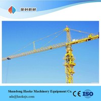 6 Ton Tower Crane with PLC Control System