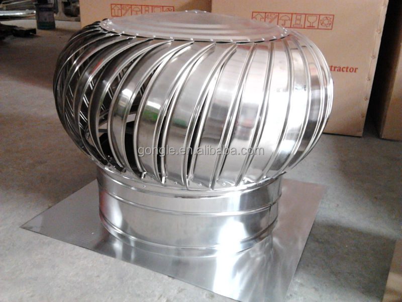 Picture Of Roof Ventilator Turbo : Non power automatic roof turbo ventilator fan buy