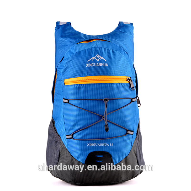 China high quality low price folding travel backpack