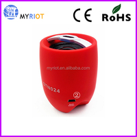 Super bass portable muti-function bluetooth speaker with FM TF card player
