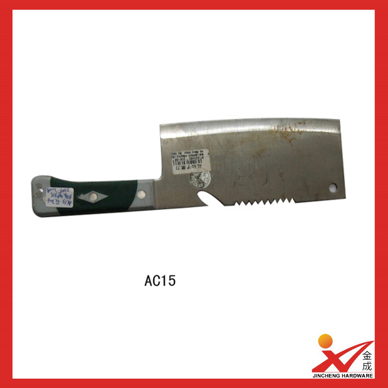 Manufacturer stainless steel kitchen knife AC15
