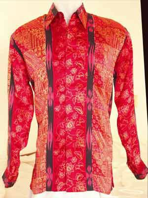Batik shirts and women batik dress