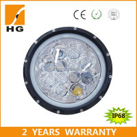 osram led headlight 7inch 12v/24v led work light 55w headlight motorcycle led lighting