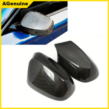 Custom real carbon fiber mirrors caps side mirror covers for BMW 1 series E82 E87 E88 08-12