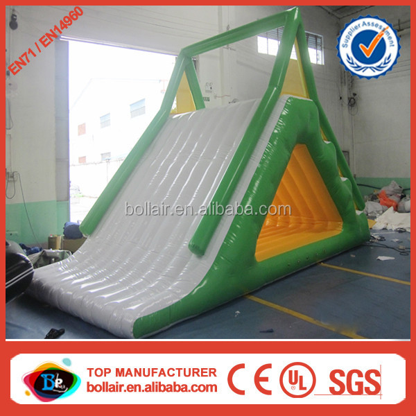 China wholesale durable cheap lake inflatable water slides