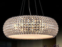 Creative contemporary bar counter crystal dinning room bedroom restaurant metal chandelier